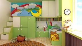 Pokój, nowy pokój dla dzieci Obraz Royalty Free