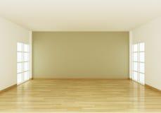 pokój pusta wewnętrzna przestrzeń royalty ilustracja