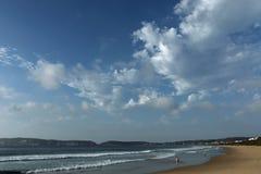 Pokój, spokój i piękno, enfold seascape obrazy royalty free