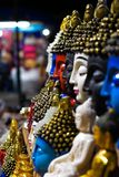 Pok?j w r??nych kolorach Budha zdjęcie stock