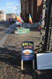 Pokój WATCH-BAN bomby Zdjęcie Royalty Free