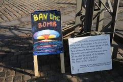 Pokój WATCH-BAN bomby Zdjęcie Stock