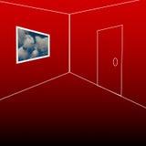 pokój widok Obraz Stock