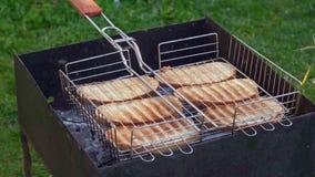 Pokój wyśmienicie chleb piec na grillu zbiory