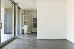 Pokój z łazienką obrazy royalty free