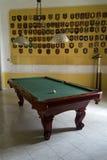 Pokój z billiards Obrazy Stock