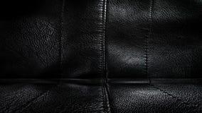 Pokój z czarnym skóra sufitem i ścianą ?wiadczenia 3 d obrazy royalty free