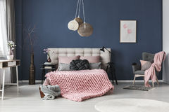 Pokój z dekoracjami Obraz Stock