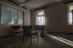 pokój z sunrays zdjęcie royalty free