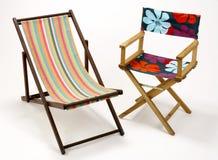 Pokładów krzesła Obraz Royalty Free