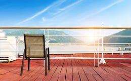 Pokładów krzesła Zdjęcie Royalty Free