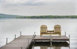 Pokładów krzesła Fotografia Royalty Free