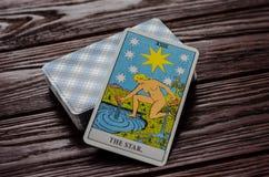 Pokład karty Tarot jeździec Obraz Royalty Free