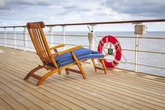 Pokładu krzesło Fotografia Stock