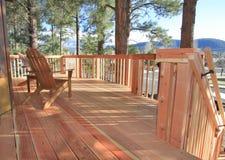 pokładu redwood Zdjęcie Stock