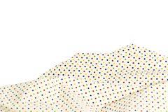 Poka punktiert auf gesponnen, auf dem weißen Hintergrund lizenzfreies stockbild