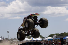 pokaz ciężarówki potwora samochodów zdjęcia stock