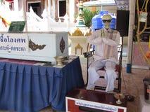 Pokaz dla trumiennej darowizny w Pattaya Tajlandia Obraz Royalty Free
