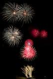Pokaz Kwitnący fajerwerk Fotografia Stock