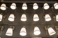 Pokaz lampy i cienie Zdjęcie Stock