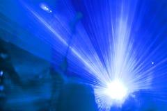 pokaz laserowy Fotografia Royalty Free