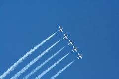 pokaz lotniczy Obraz Stock