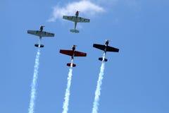 Pokaz lotniczy Zdjęcia Stock
