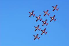 pokaz lotniczy Obrazy Stock