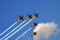 Pokaz Lotniczy 4 Obrazy Royalty Free