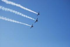 Pokaz lotniczy Zdjęcie Royalty Free