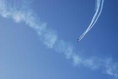 Pokaz lotniczy Fotografia Royalty Free