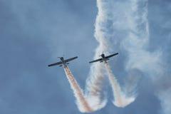 Pokaz lotniczy Zdjęcie Stock