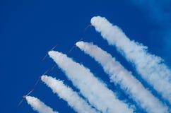 Pokaz lotniczy akrobacje Zdjęcie Stock