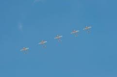 Pokaz Lotniczy 2013, Radomski 30 2013 Sierpień Obrazy Stock