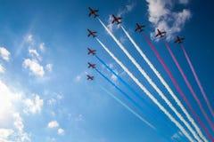 Pokaz Lotniczy w Malta Fotografia Stock