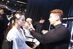 Pokaz Mody ` Bangkok mody społeczeństwo, BFS ` przy Emquartier działem Obrazy Royalty Free