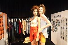 Pokaz Mody ` Bangkok mody społeczeństwo, BFS ` przy Emquartier działem Zdjęcia Stock