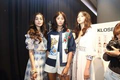 Pokaz Mody ` Bangkok mody społeczeństwo, BFS ` przy Emquartier działem Obrazy Stock