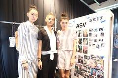 Pokaz Mody ` Bangkok mody społeczeństwo, BFS ` przy Emquartier działem Fotografia Royalty Free