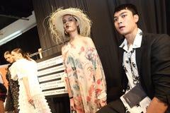 Pokaz Mody ` Bangkok mody społeczeństwo, BFS ` przy Emquartier działem Zdjęcie Royalty Free