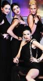 Pokaz mody kobieta zdjęcia royalty free