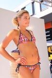 Pokaz mody lato bikini beachwear Obrazy Stock