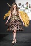 Pokaz mody na wybiegu podczas powystawowego salonu Du Chocolat Obrazy Royalty Free