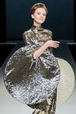 Pokaz mody Pierre Cardin w Moskwa mody tygodniu Z miłością dla Rosja zimy 2016/2017 Obraz Royalty Free
