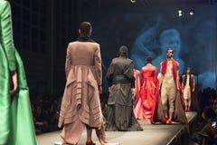 Pokaz mody ucznie mody szkoła Zdjęcie Royalty Free