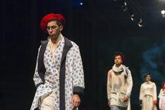 Pokaz mody ucznie mody szkoła Fotografia Royalty Free