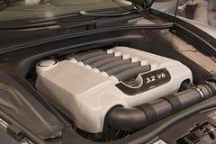 pokaz samochodów transportu silnika Zdjęcia Royalty Free