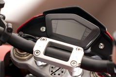 pokazu wymiernika dowodzony motocykl Zdjęcie Royalty Free