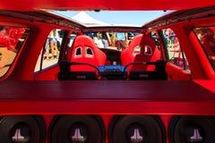 Pokazuje Importowego Carshow & Błyszczy Zdjęcia Stock