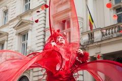 Pokazuje inside B-FIT w Ulicznym Bucharest 2014 Fotografia Royalty Free